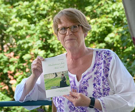 Aila Lundquist ger idagarna ut en 52-sidig bok om olika meditationer.