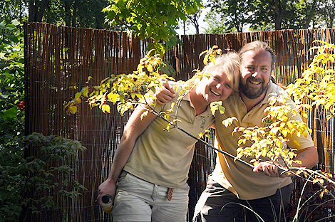 Kärleken spirar bakom lönnen i den japanskinspirerade flotten från Horto Green. - Jag har själv hämtat inspiration från en japansk trädgård i holländska Den Haag, säger Emilie Johansson som märker ett allt större intresse för just växter som passar i genren.