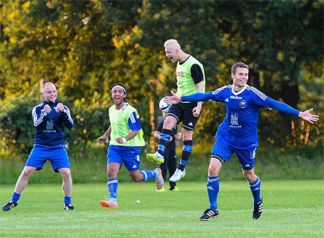 IK Wormo bjuder på mål och äkta spelglädje. Foto: Ulf Bjarke - Foto261.se