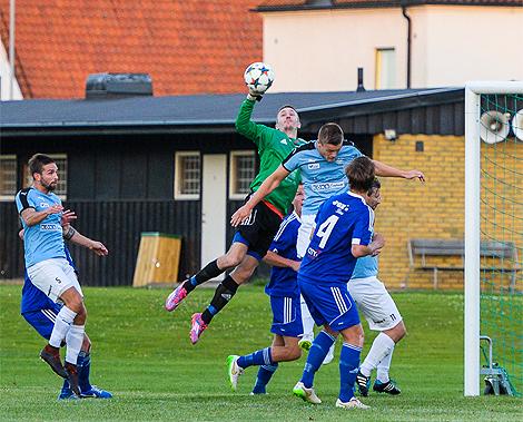 Andreas Borg höll rent framför eget mål.  Foto: Ulf Bjarke - Foto261.se