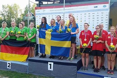 Guld till Elisabeth Brandt vid JEM i Ostrava- fortsatta framgångar för Linjens tjejer