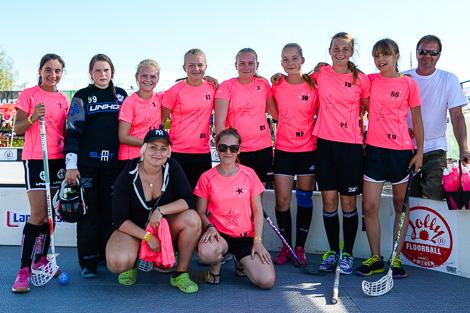 Skånes Stjärnor bemannades av spelare och ledare från tre olika innebandyklubbar.