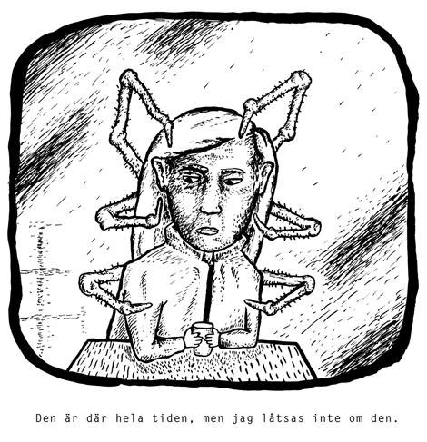 Teckning: Carl Aragón.