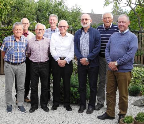 1964-års ingenjörer vid Landskrona Stads Tekniska Skola sammanstrålade