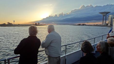 Vacker båtöverfart till Gråen med LindaFoto: Per Månsson.