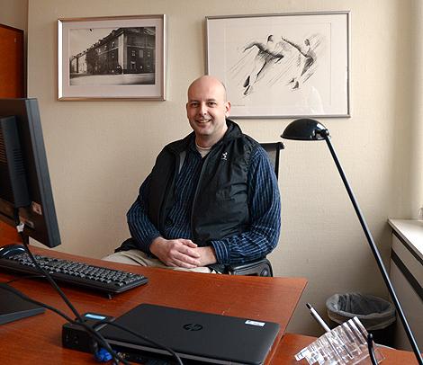 Mikael Fahlcrantz, kommunalråd, (MP) har hunnit gå i pension den dagen hans vision om den fossilfria staden infriats.