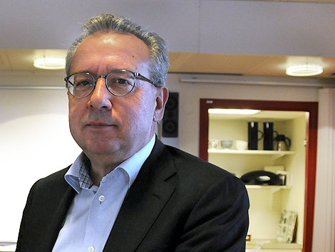 Kenneth Håkansson är ordförande i Landskronahem.