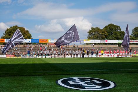 Line Up för veteranerna. Foto Ulf Bjarke