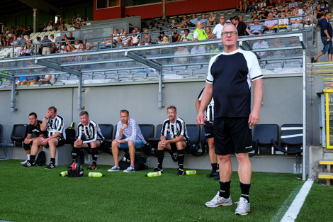 Kung Sune var lugnet själv när han coachade sina spelare. Foto Ulf Bjarke