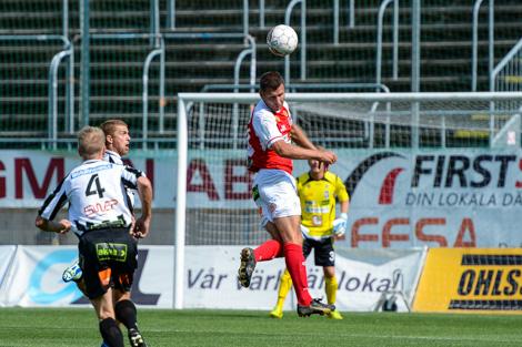 Andreas Jakobsson var en av många som hade bevarat matchformen. Foto Ulf Bjarke