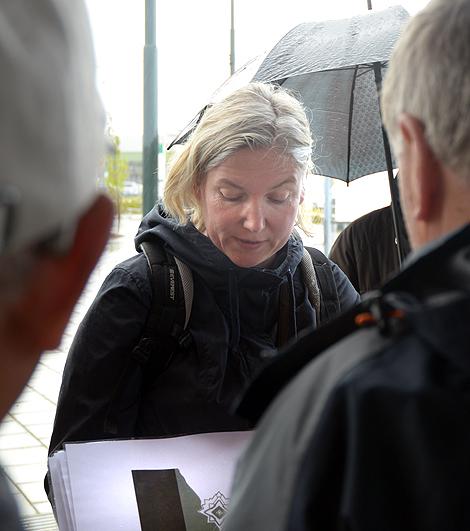 Stadsantikvarie Lena Hector, håller Rådhuset som Landskronas främsta byggnad och menar att det krävs en antikvarisk förundersökning innan projekteringen av en restaurang kan ta vid.