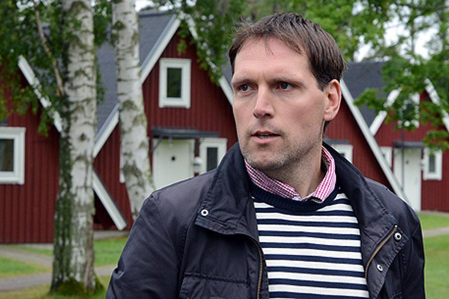 Mårten Olsson är kommunens ytterst ansvarige tjänsteman vid köp och försäljning av mark i Landskrona.