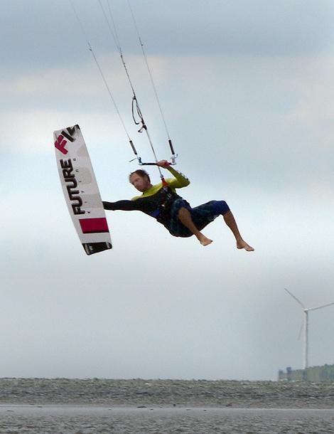 Landets bästa kitesurfare från Landskrona