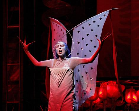 Operasäsongen på Landskrona teater avslutas med en visning av Mozarts Trollflöjten. Foto: Pressbild