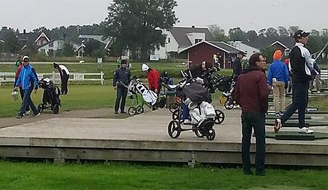 Skandia Touren gästade Häljarp. Foto: Privat.