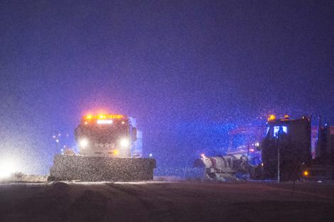 Plogbilarna kördes varma. Foto: André Tajti, AT-Foto.se