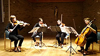 Airis Quartett: Aleksandra Czajor, Grazyna Zubik Natalia Warzecha-Karkus och Joanna Gutowska