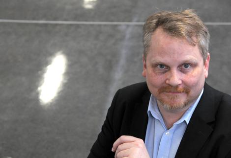 Ulf Bergström verksamhetsledare för gymnasieutbildningarna i Landskrona har ett styvt jobb att känna av vilka program som ska erbjudas i staden till kommande år.