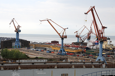 Invigningar och öppet hus på varvsudden