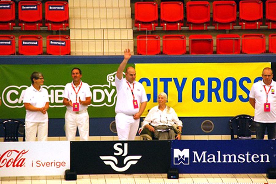 Andreas Andersson Ekström från Landskrona kommer inför fullsatta läktare i Göteborg till helgen att vara ytterst ansvarig för svenska ungdomsmästerskapen i simning.