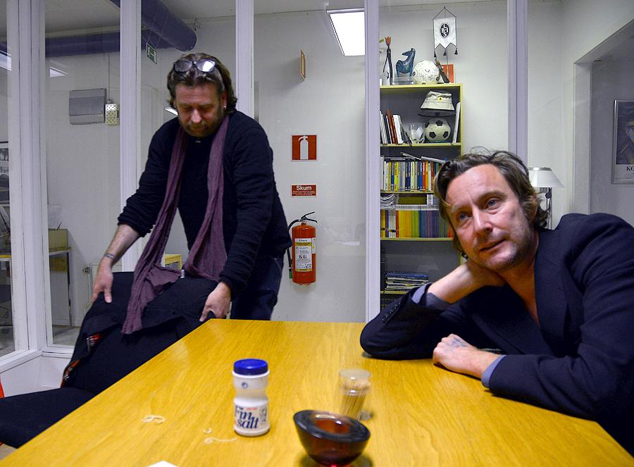 Thomas H Johnsson och Jonas Bergh