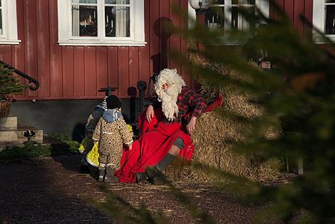 Tomten hade hittat till Erikstorp..