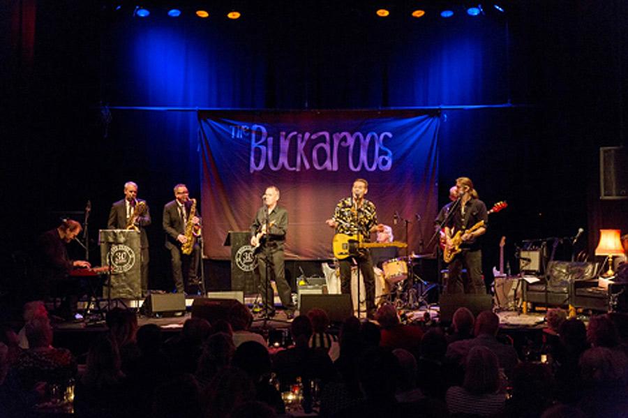 """The Buckaroos är dubbelt aktuella, dels med en ny-utgivning av jul-EP:n """"Merry Christmas"""" samt med sina årliga julkonserter på Victoriateatern. Foto: Privat."""