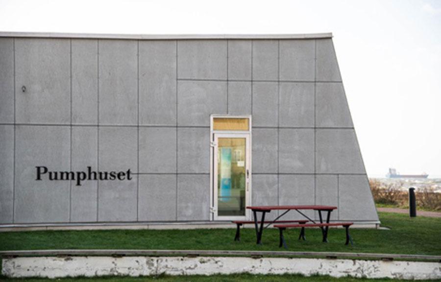 Pumphuset bjuder in till ett digert jubileumsprogram kommande år. Foto: Ursula Hallén.