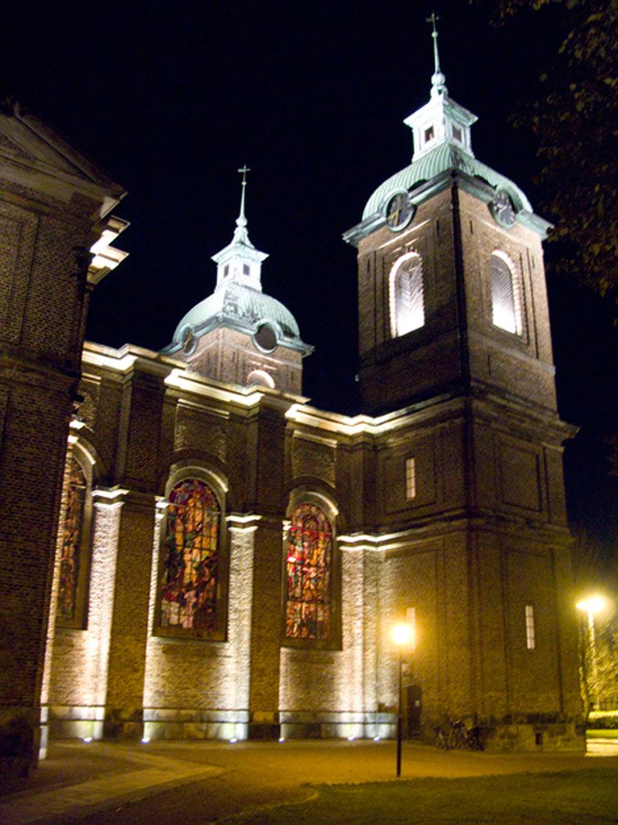 Sofia Albertina kyrka stänger efter trettondehelgen och ska under större delen av 2016 genomgå en omfattande renovering. Foto: Hjördis Thelander
