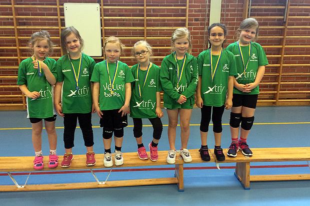 Kronans yngsta lirare har spelat sin första turnering. Foto: Privat