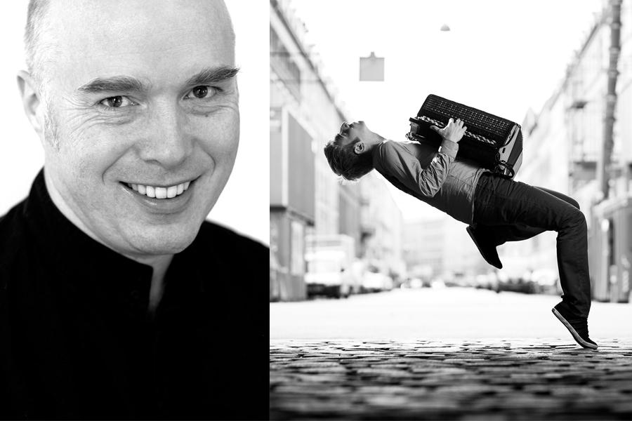 Geir Draugsvoll och Bjarke Mogensen