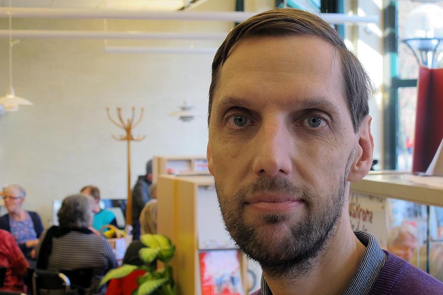 Håkan Barck är initiativtagare till nätverket Minimässor som fredagen den 29 januari bjuder in till en liten mässa på teaterrestaurangen.
