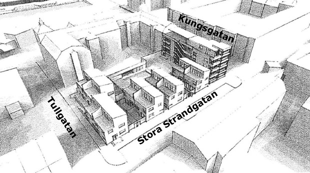 Bostäder ska byggas på parkeringsplats