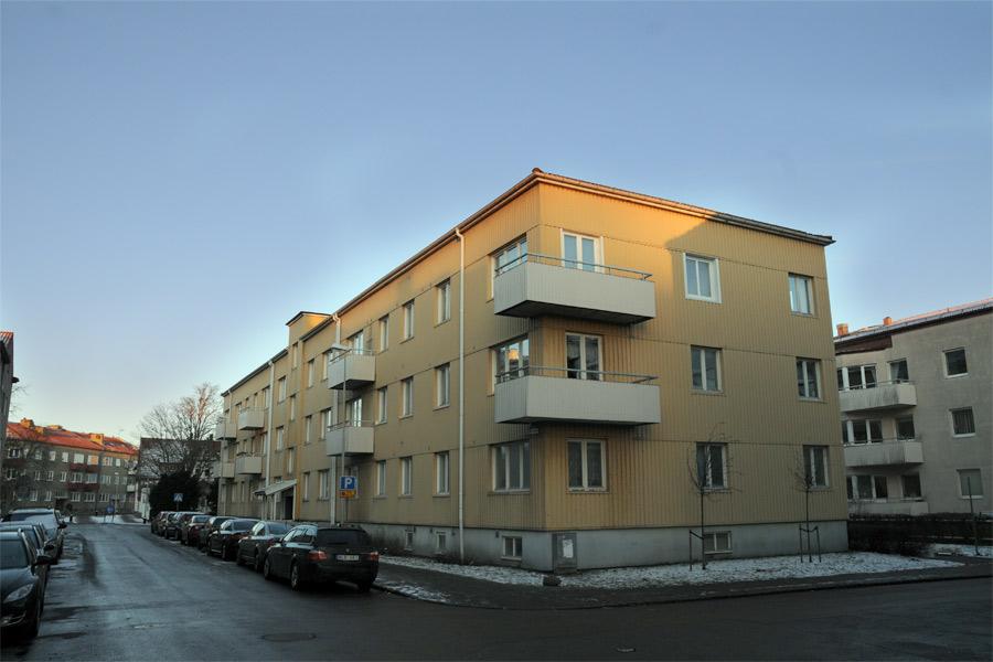 Landora 1-3 är en del av de fastigheter som HSB nu äger till hundra procent efter att de köpt ut Landskronahem.