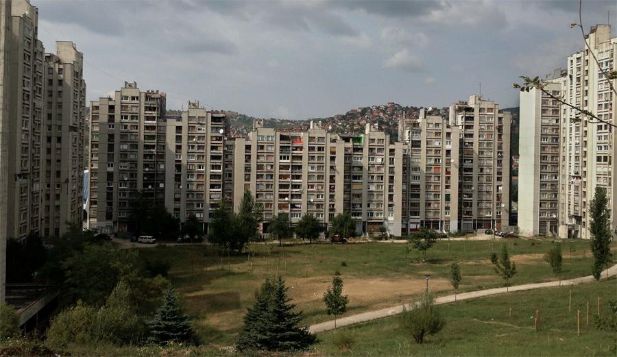 Min faster i Sarajevo är inspelad på plats i Sarajevo.