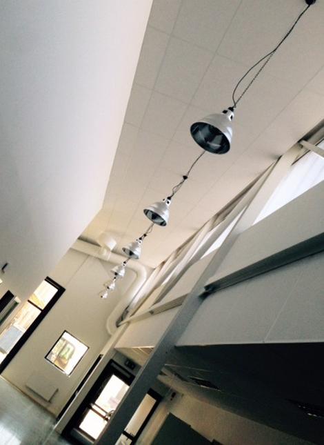 Teknikprogrammet med sina nya attraktiva lokaler lockar fler elever i år.