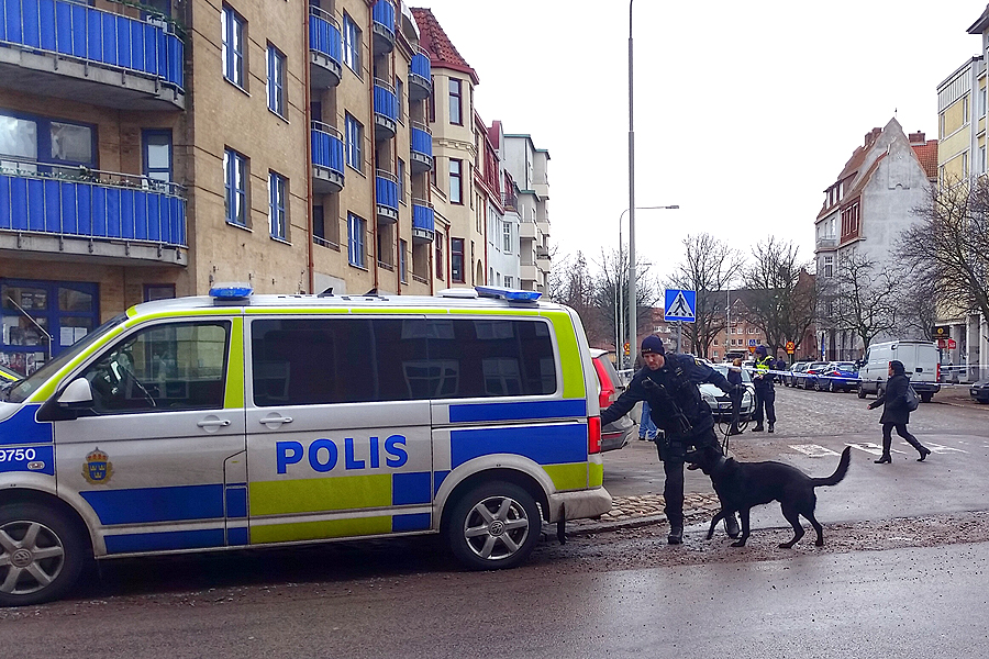 Det fanns många vittnen till skjutningen på Skolallén. Dessa kommer att höras under onsdagen.