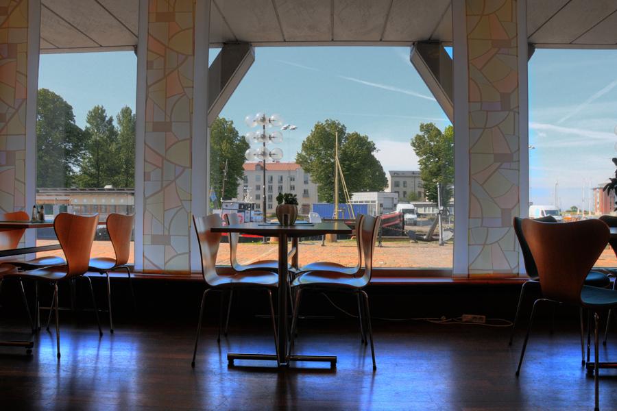 Restaurangen i stadshuset.