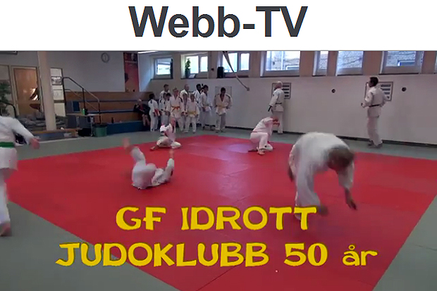 GF Idrott judo 50 år
