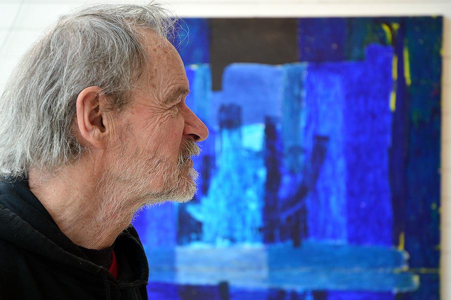 Den småländske konstnären Arne Persson inleder utställningsåret på Pumphuset.
