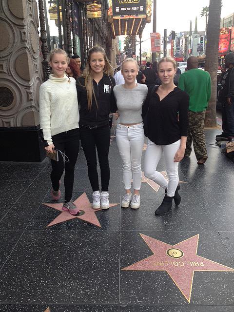 Gymnaster i LA