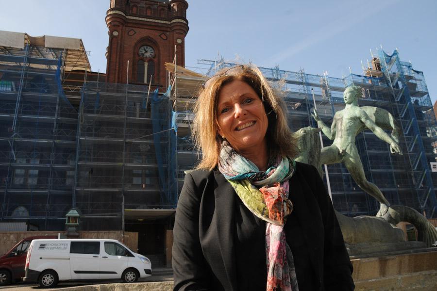 Ann Seth hoppas att kunna öppna Harrys i Rådhuset veckan efter midsommar.