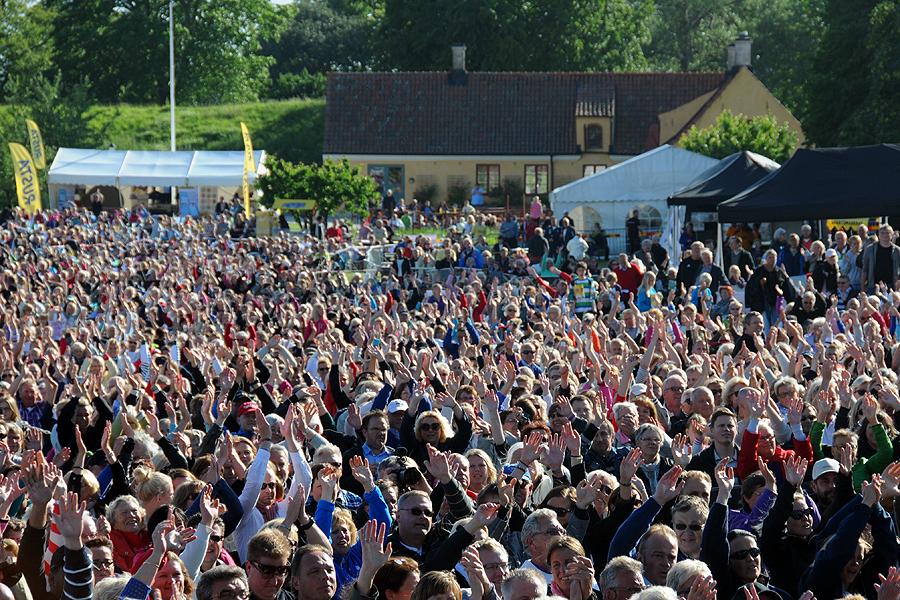 Landskronas befolkning växer sakta men säkert. Under året kommer den 44 000:e invånaren att kunna hälsas välkommen.