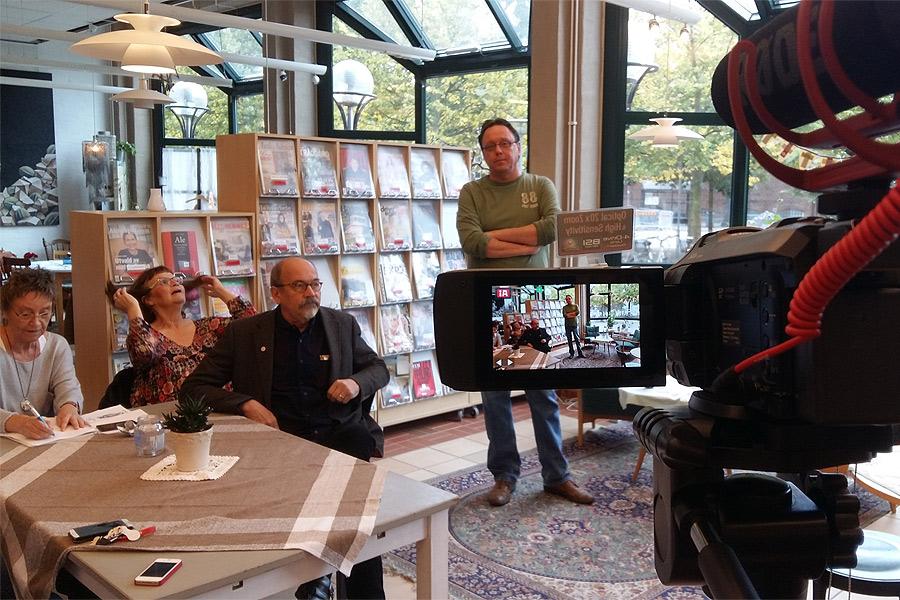 Den 5 mars drar Ali Alabdallah igång tredje säsongen för sitt hyllade Nyhetscafé på stadsbiblioteket. Förra säsongen gästade Kary Persson på Landskrona Direkt caféet.