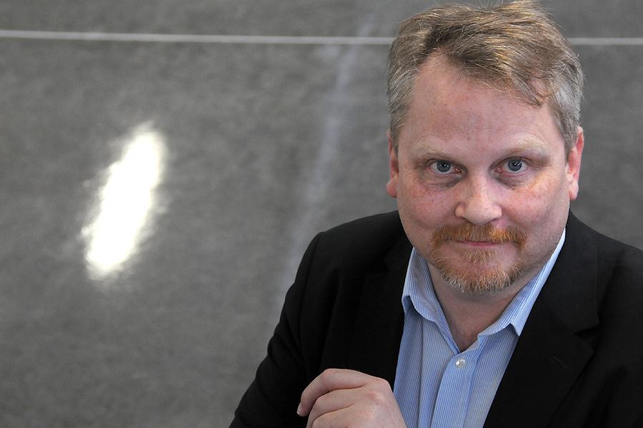 Verksamhetschefen för stadens gymnasieutbildningar samt vuxenutbildningar Ulf Bergström.