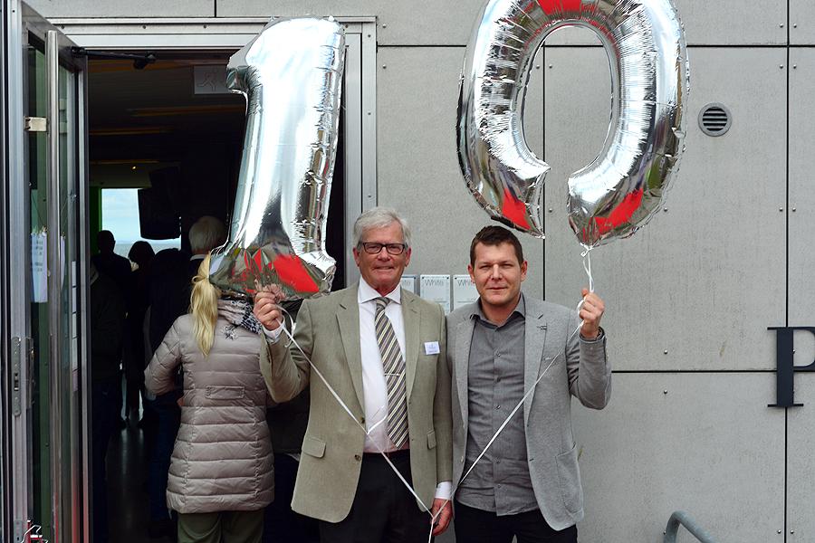 Populär tioåring firades