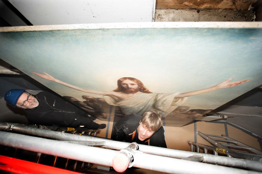 """""""Christus consolator"""" är målad av Carl Bloch. Foto: Sayed Khatib"""