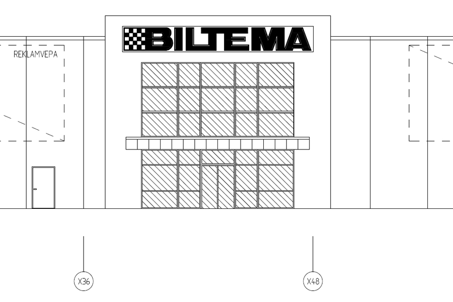 Klartecken för Biltema