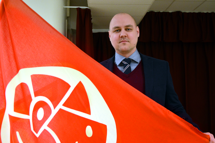 Conny Lavin är nyvald ordförande för Socialdemokraterna i Landskrona.