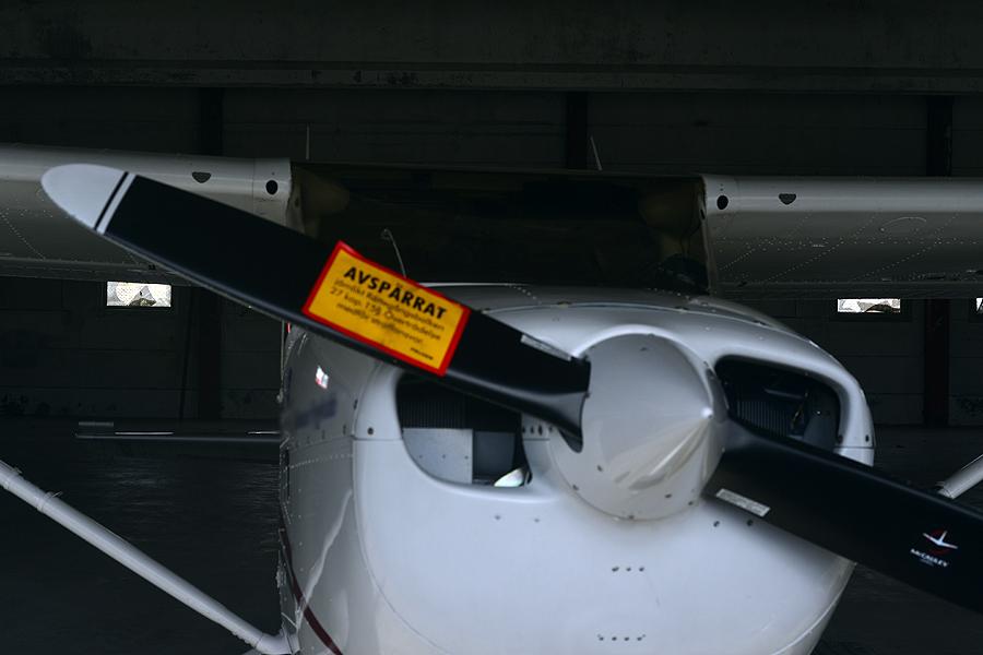 Flygplanet som nu är inlåst är av modellen Cessna 172.